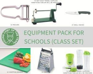 Equipment pack for schools